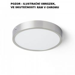 HUE R 22 stropní chrom 230V LED 24W 3000K - RED - DESIGN RENDL