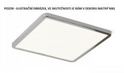 HUE SQ 22 zápustná matný nikl 230V LED 24W 3000K - RED - DESIGN RENDL