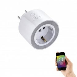 Konektor do zásuvky Q-PLUG Smart Home bílý 0,25W 2700K 29lm - PAUL NEUHAUS