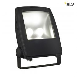 LED FLOOD LIGHT 80W, černá, 5700K, 90° - BIG WHITE