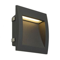 DOWNUNDER OUT LED L antracitová   SMD LED .96W IP55 3000K - BIG WHITE