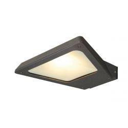 TRAPECCO DOWN nástěnná antracitová   SMD LED 10W 100° IP44 3000K - BIG WHITE