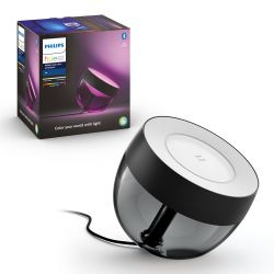 Hue LED White and Color Ambiance Bluetooth Stolní lampa Iris 8719514264489 8,1W 570lm 2000-6500K RGB IP20 černá
