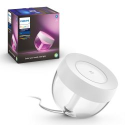 Hue LED White and Color Ambiance Bluetooth Stolní lampa Iris 8719514264465 8,1W 570lm 2000-6500K RGB IP20 bílá