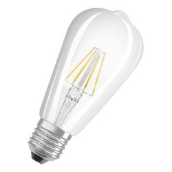 OSRAM Retrofit Edison   čirá 230V E27 LED EQ40  2700K - DESIGN RENDL
