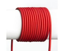 FIT textilní kabel 3X0,75 1bm šedá - RED - DESIGN RENDL