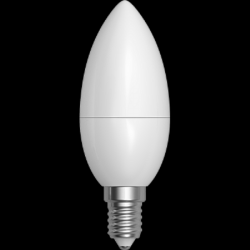 Žárovka LED Olive Smooth230V E14 3W 3000K 250lm Ø35mm v.100mm 240° - SKYLIGHTING